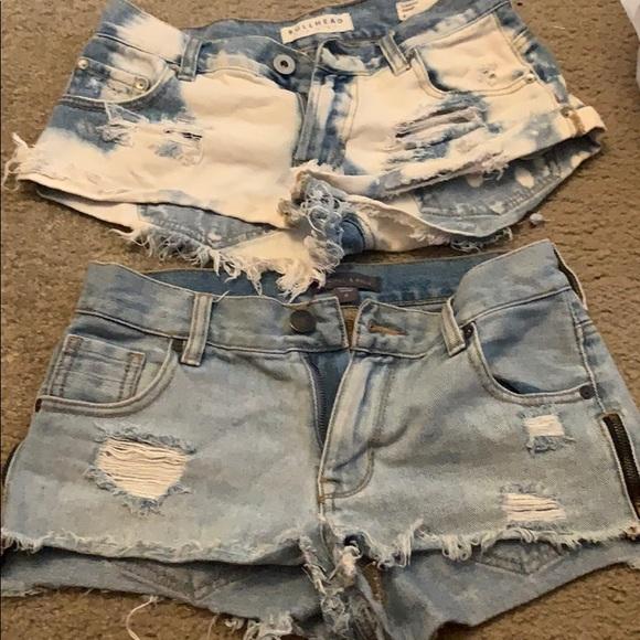 Kendall & Kylie Pants - Pac Sun Jean  Shorts